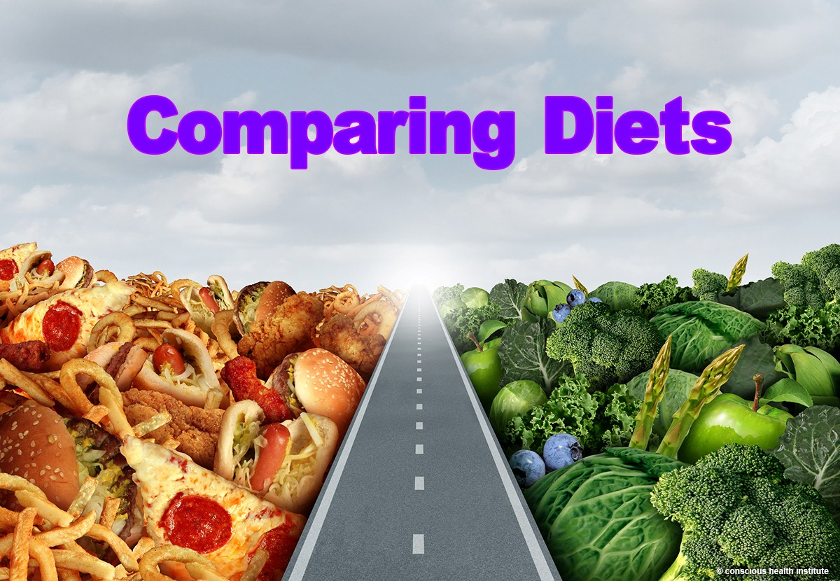 Comparing Four Popular Dietary trends:  Paleo vs Keto vs 5:2 vs Dukan